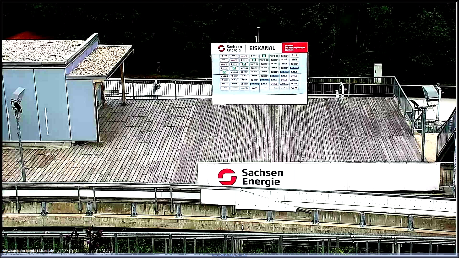 Webcam Skigebiet Geising Bobbahn - Erzgebirge
